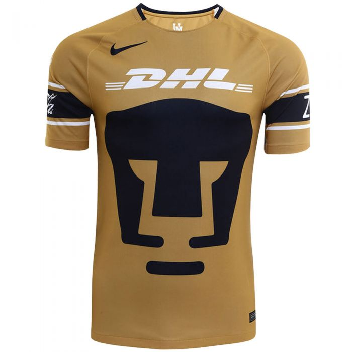 Térmico Copiar excursionismo  Nike Pumas Third Jersey 17/18 - Truly Gold/White/Obsidian | soccerloco