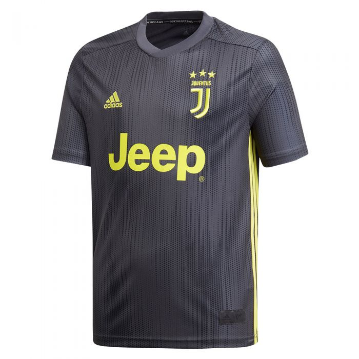 adidas Youth Juventus Third Jersey 18/19 (Parley for the Oceans ...