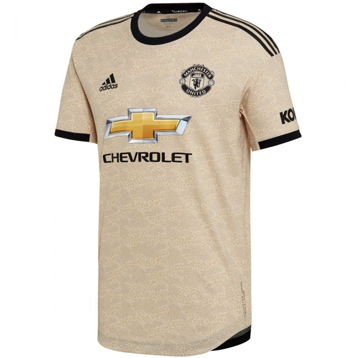 adidas Manchester United Away Authentic Jersey 19/20   soccerloco