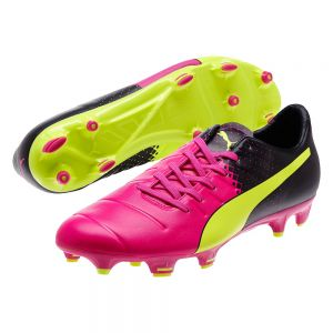 Puma evoPOWER 3.3 Tricks FG - Pink Glo/Safety Yellow/Black