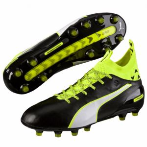 Puma evoTOUCH 1 FG - Black/White/Safety Yellow