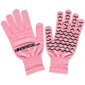 Kwik Goal Field Player Gloves - Pink