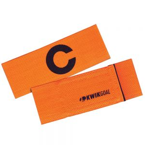 Kwik Goal Captain C Band - Fluorescent Orange