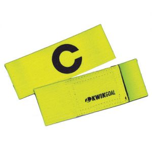 Kwik Goal Captain C Band - Fluorescent Yellow