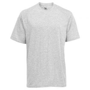 Badger Youth B-Tech Tee - Grey