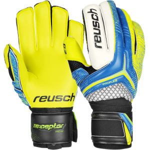 Reusch RE:CEPTOR PRO G2 Goalkeeper Gloves - Blue/Yellow/Black/White