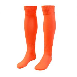 Tourney Sock - Fluorescent Orange/White