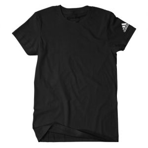 adidas Men's Logo T-Shirt - Black