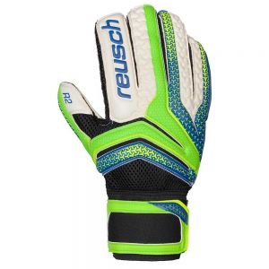 Reusch Serathor Prime R2 Goalkeeper Gloves - Green Gecko/Dazzling Blue