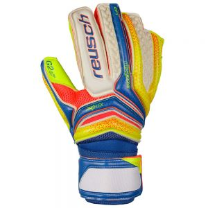 Reusch Serathor Deluxe G2 Goalkeeper Gloves - Dazzling Blue/Saftey Yellow/Saftey Yellow Palm