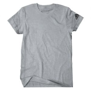 adidas Youth Logo T-Shirt - Grey