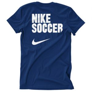 Nike Youth Soccer T - Shirt - Navy