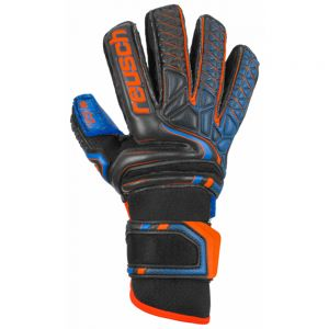 Reusch Jr Attrakt G3 Fusion Ortho-tec - Black/shock Orange/blue