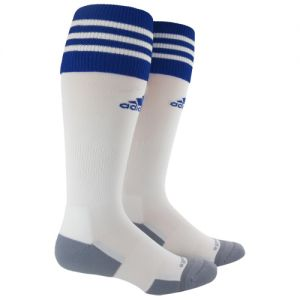 adidas Copa Zone II Sock (Small) - White/Royal