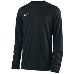 Nike Youth Long Sleeve Park Goalie II Jersey - Black/White