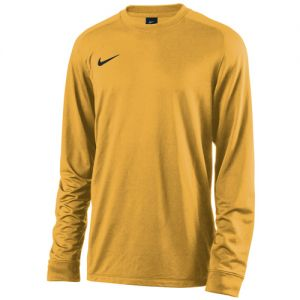 Nike Youth Long Sleeve Park Goalie II Jersey - Yellow