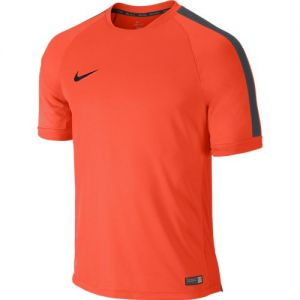 Nike Squad Flash Short Sleeve Training Top - Crimson/Grey