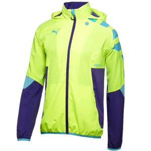 Puma IT evoTRG Light Woven Jacket - Fluro Yellow