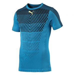 Puma IT evoTRAINING Thermo-R ACTV Tee - Atomic Blue/Black