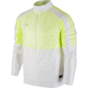 Nike Select Revolution Lightweight Woven Jacket - White/Volt