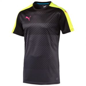 Puma Glory Short Sleeve Jersey - Black / Yellow
