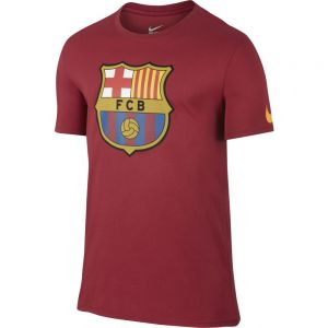 Nike Barcelona Crest Tee - Storm Red