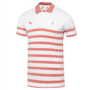 Puma Arsenal Polo - White/High Risk Red