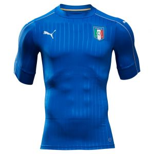 Puma Italy Home Authentic Jersey 16/17