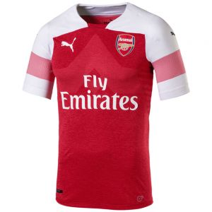 Puma Arsenal Home Authentic Jersey 18/19 - Chili Pepper Heather/White