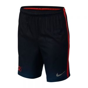 Nike Youth CR7 Squad Short - Industrial Blue/Metallic Silver