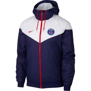 Nike Paris Saint-Germain Windrunner Jacket - Loyal Blue/White