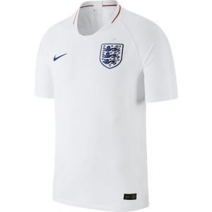 Nike England Home Match Jersey 2018 - White/Sport Royal