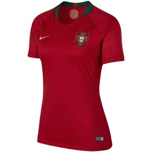 Nike Women's Portugal Home Jersey 2018 - Gym Red