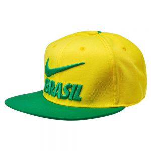 Nike Pro Brazil Hat - Midwest Gold/lucky Green