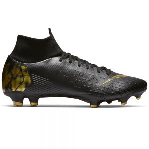 Nike Mercurial Superfly 6 Pro FG - Black/Metallic Vivid Gold