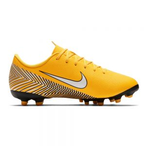 Nike Jr Neymar Mercurial Vapor 12 Academy Grade-School MG - Amarillo/White/Dynamic Yellow