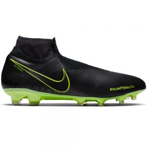 Nike Phantom VSN Elite Dynamic Fit FG - Black/Volt