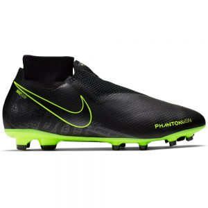Nike Phantom VSN Pro Dynamic Fit FG - Black/Volt