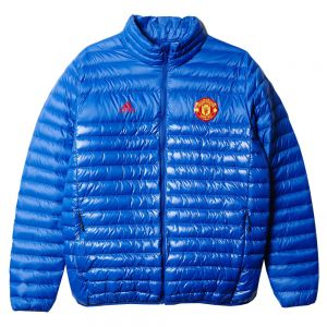 adidas Manchester United Light Down Jacket - Royal