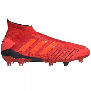 adidas Predator 19+ FG - Active Red/Solar Red/Black
