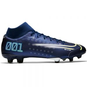 Nike Mercurial Superfly 7 Academy MDS MG - Blue Void/Barely Volt/White