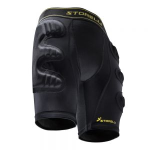 Storelli BodyShield Ultimate Protection Goalkeeper Sliding Shorts - Black