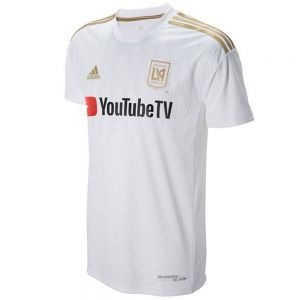 adidas LAFC Away Jersey 2018 - White/Dark Football Gold
