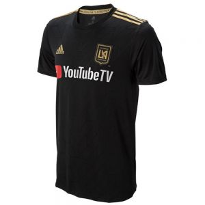 adidas LAFC Home Jersey 2018 - Black/Dark Football Gold