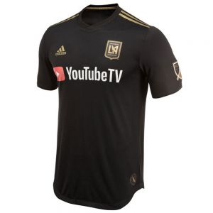 adidas LAFC Home Authentic Jersey 2018 - Black/Dark Football Gold