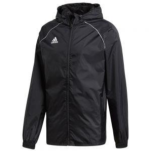 adidas Core 18 Rain Jacket - Black/White