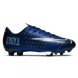 Nike Jr Mercurial Vapor 13 Academy MDS MG - Blue Void/Barely Volt/White