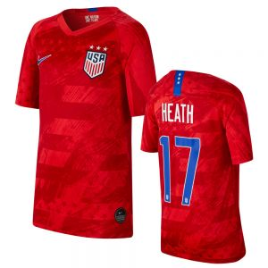 Nike Youth Heath #17 USWNT Away Jersey 2019