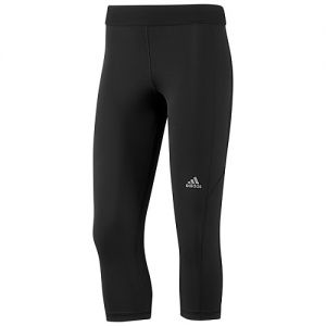 adidas Women's Techfit Capri Tight - Black