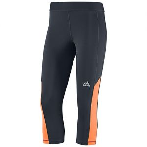 adidas Women's Techfit Capri Tight Grey/Orange